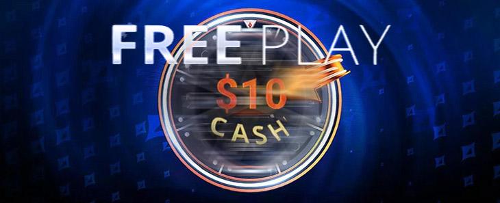 Бездепозитный бонус 10$ кэша от partypoker.