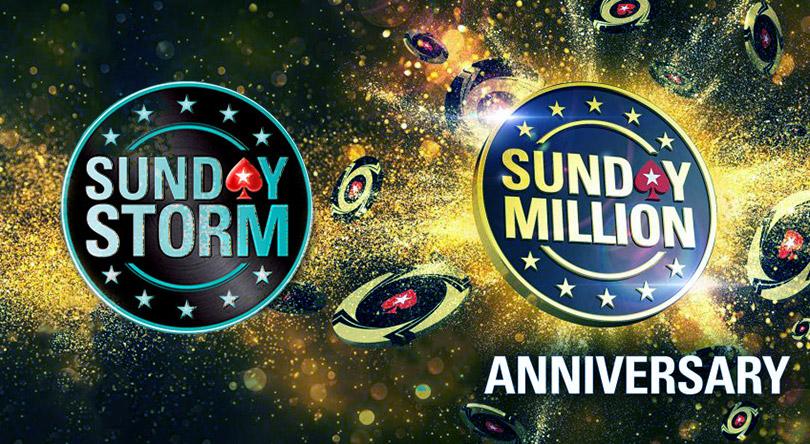 Выбывший участник Sunday Storm получает билет на сателлит к турниру Sunday Million PokerStars.