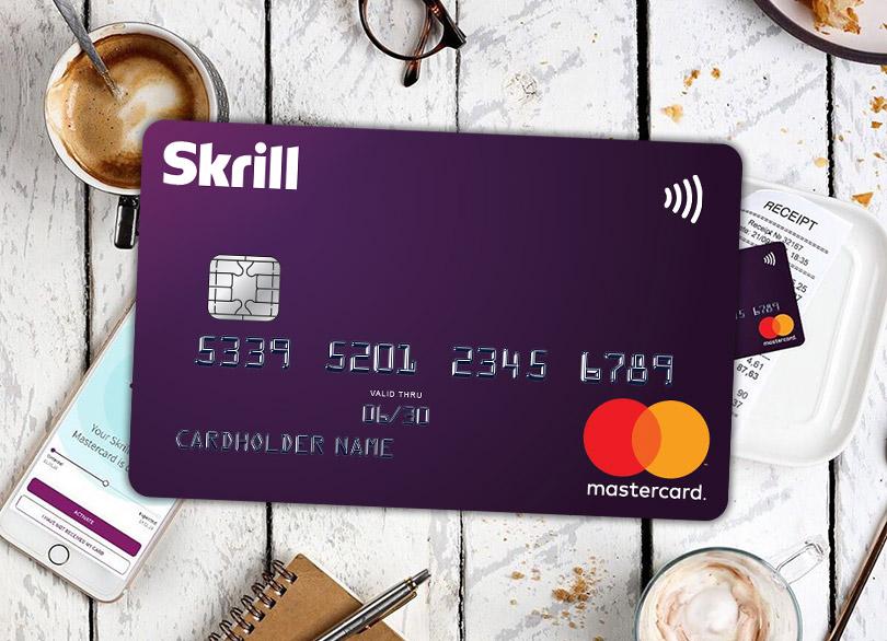 Преимущества карточки Skrill MasterCard.